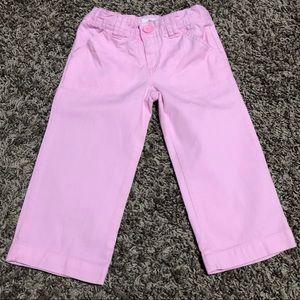 Circo Pink Cropped Pants Girls Size 5